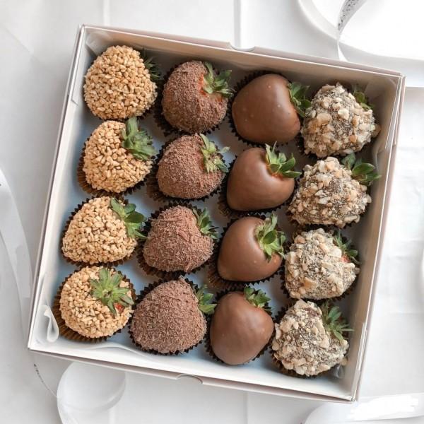 Շոկոլադեպատ ելակներ 16հատ