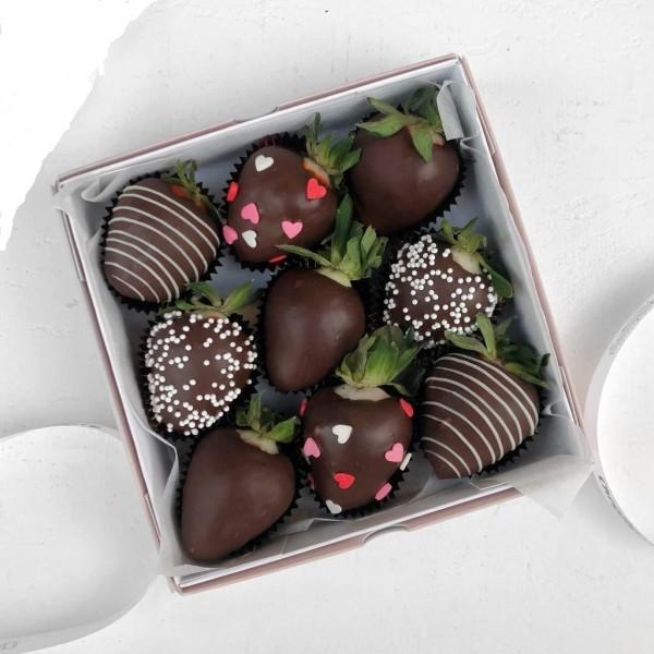 Շոկոլադեպատ ելակներ 9հատ